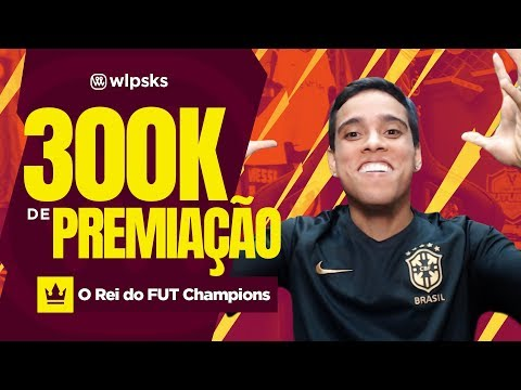 300k NA PREMIAÇÃO DA WEEKEND LEAGUE!!!!! - O REI DO FUT CHAMPIONS | Wendell Lira